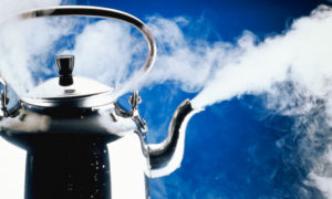 boiling kettle pot