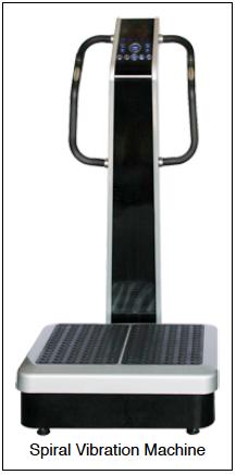 spiral vibration platform