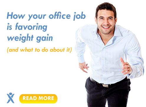 office job weight gain