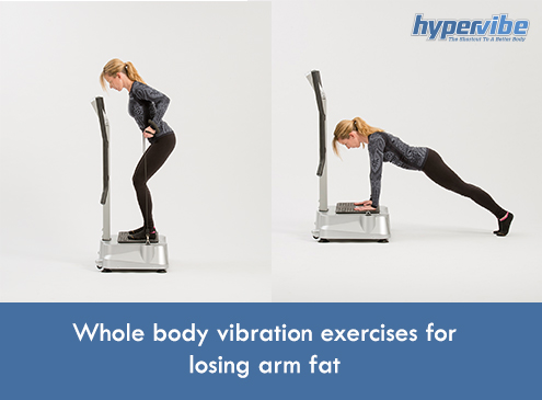 wbv exercise lose arm fat