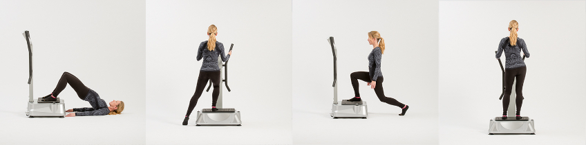 vibration plate exercises for thighs
