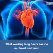 What working long hours does to our heart and brain