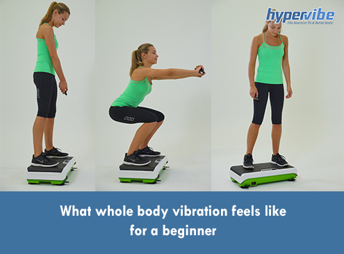 What whole body vibration feels like for a ...