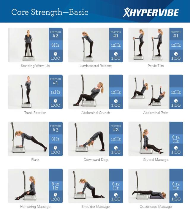 wbv machine exercise plan