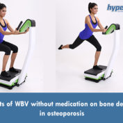 Effects of WBV without medication on bone density, in osteoporosis