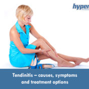 Tendinitis – causes, symptoms and treatment options