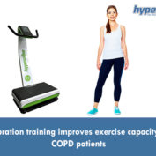 Vibration training improves exercise capacity in COPD patients