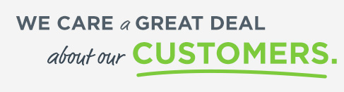 We care a great deal about our customers
