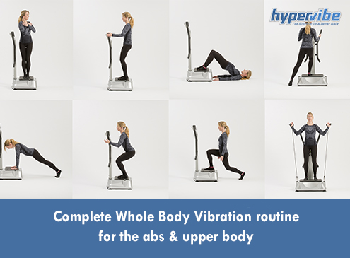 Complete Whole Body Vibration routine for the abs & upper body