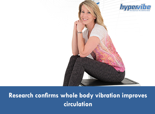 Research confirms whole body vibration improves circulationHypervibe USA