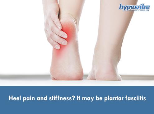 plantar fasciitis heel pain stiffness