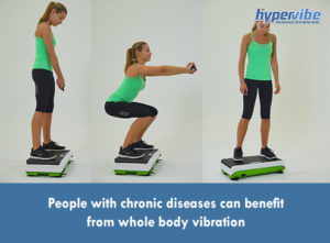 People with chronic diseases can benefit from whole body vibration
