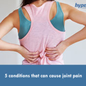 5 conditions that can cause joint pain