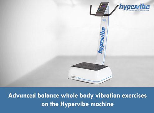 Advanced Balance Whole Body Vibration Exercises on the Hypervibe Machine 3