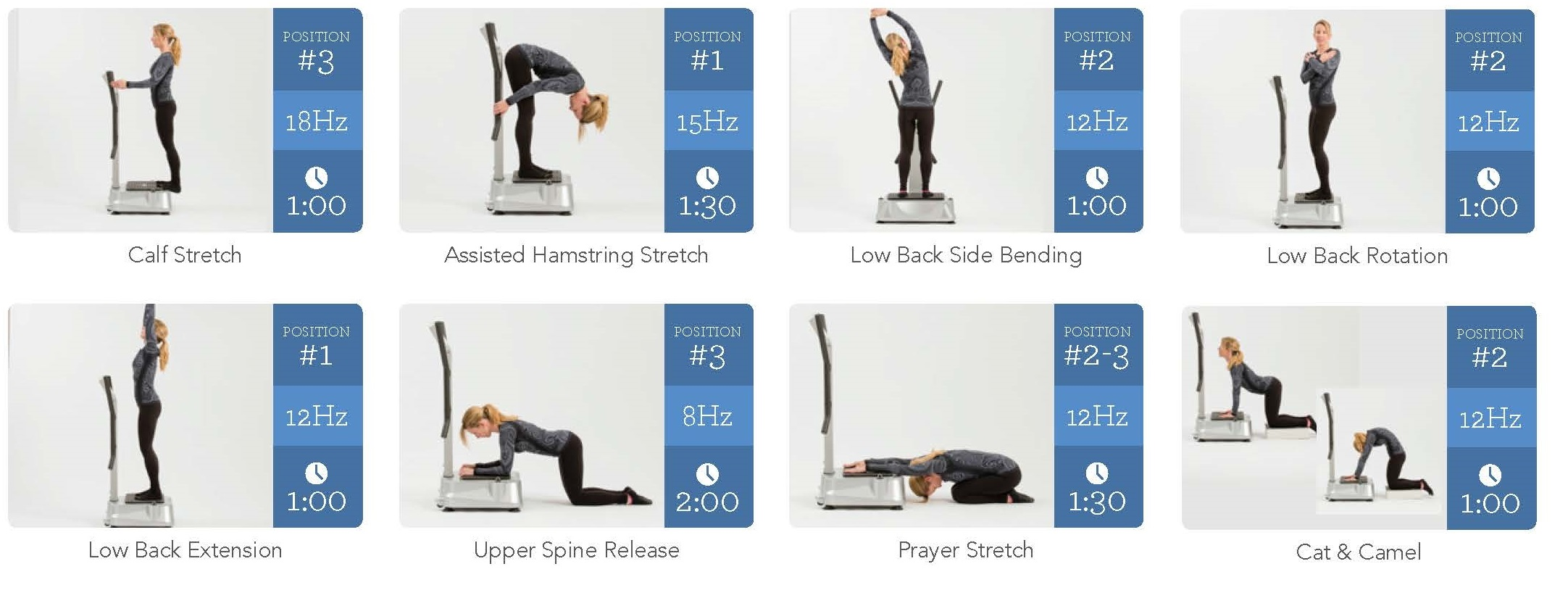Hypervibe WBV routine and stretches for tight