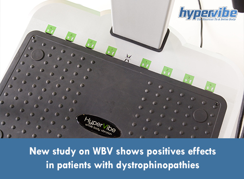 New study on WBV shows positives effects in patients with dystrophinopathies
