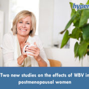 Two new studies on the effects of WBV in postmenopausal women