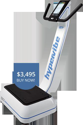 Hypervibe G17 Vibration plates price $3,495