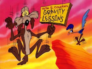 gravity lessons from a cartoon character
